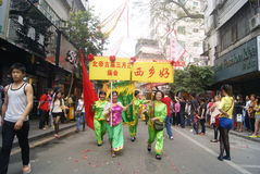 Shenzhen, China: parade activities Royalty Free Stock Images