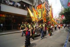 Shenzhen, China: parade activities Royalty Free Stock Image