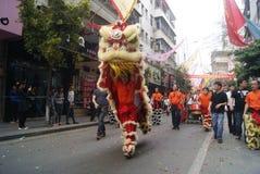 Shenzhen, China: parade activities Royalty Free Stock Photography