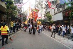 Shenzhen, China: parade activities Stock Photo