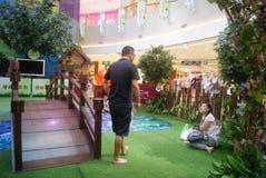 Shenzhen, China: parent-child activities Stock Image