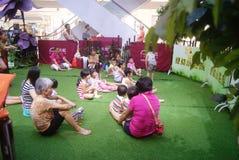 Shenzhen, China: parent-child activities Stock Photo