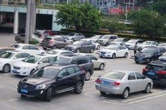 Shenzhen, China: parking lot Stock Image