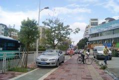 Shenzhen, China: Pavement Landscape Royalty Free Stock Images