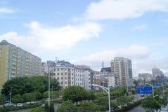 Shenzhen, China: Pavement Landscape Stock Photography
