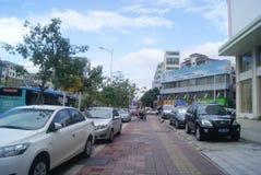 Shenzhen, China: Pavement Landscape Stock Images