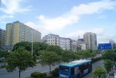 Shenzhen, China: Pavement Landscape Royalty Free Stock Photo