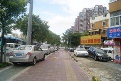 Shenzhen, China: Pavement Landscape Stock Photo