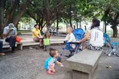 Shenzhen, China: people in the Park Leisure Stock Images