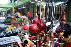 Shenzhen, China: pequeño mercado comercial Fotografía de archivo libre de regalías