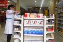 Shenzhen, China: Pharmacies Royalty Free Stock Photos