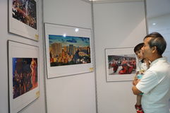 Shenzhen, China: Photography Exhibition Royalty Free Stock Images