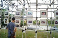 Shenzhen, China: photography exhibition Stock Image