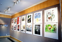Shenzhen china: photography exhibition Royalty Free Stock Photo