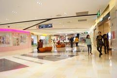 Shenzhen, China: Plaza de compras de Tianhong Imágenes de archivo libres de regalías