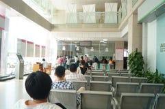 Shenzhen, China: population and family planning station Stock Photo