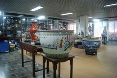 Shenzhen, China: porcelain exhibition sales Royalty Free Stock Image
