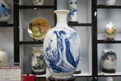 Shenzhen, China: porcelain exhibition sales Stock Photo