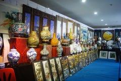 Shenzhen, China: porcelain exhibition sales Stock Image