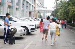 Shenzhen, China: propaganda of environmental protection Stock Image