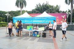 Shenzhen, China: propaganda of environmental protection Stock Photography