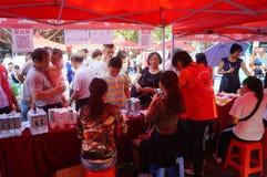 Shenzhen, China: public employment innovation service platform in community activities Stock Image