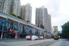 Shenzhen, China: Quadrado cultural Foto de Stock Royalty Free