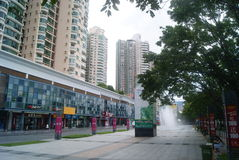 Shenzhen, China: Quadrado cultural Foto de Stock