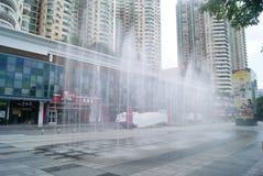 Shenzhen, China: Quadrado cultural Fotografia de Stock