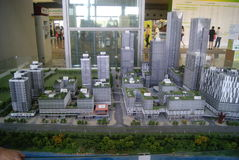 Shenzhen, China: real estate exhibition Stock Photos