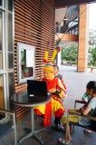 Shenzhen, China: rehearsal Sun Wukong promotion Stock Image