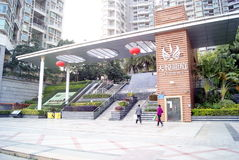 Shenzhen china: residential district Royalty Free Stock Images