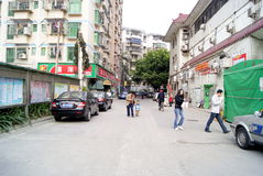 Shenzhen china: residential district Stock Photography