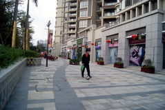 Shenzhen, China: residential landscape Royalty Free Stock Photos