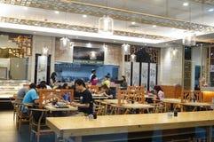 Shenzhen, China: Restaurant landscape Stock Images