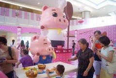 Shenzhen, China: restaurants Exhibition Royalty Free Stock Photography