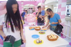 Shenzhen, China: restaurants Exhibition Royalty Free Stock Image