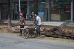 Shenzhen, China: Road Construction Stock Images