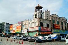 Shenzhen, China: road traffic landscape. Shenzhen Baoan manholes, road traffic landscape Stock Images