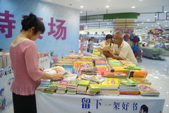 Shenzhen, China: sale of books Stock Photo