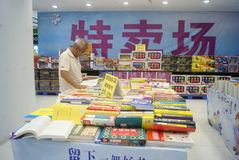 Shenzhen, China: sale of books Stock Photos