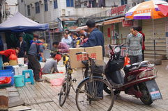 Shenzhen, China: Seafood Market Stock Photography