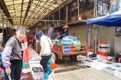 Shenzhen, China: Seafood Market Stock Images