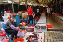 Shenzhen, China: Seafood Market Stock Photos