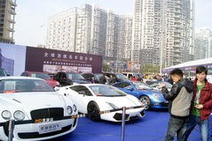 Shenzhen, china: second-hand cars sales Stock Photography