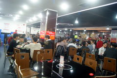 Shenzhen, china: self-help hot pot restaurant Royalty Free Stock Image