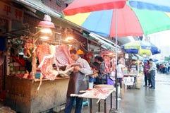 Shenzhen, China: sell mutton Stock Image