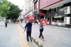 Shenzhen china: sell sugar-coated berry merchant Royalty Free Stock Image