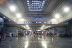 Shenzhen, China: Service Hall Convention Center Royalty Free Stock Photo