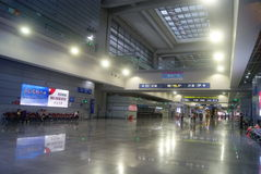 Shenzhen, China: Service Hall Convention Center Royalty Free Stock Photos